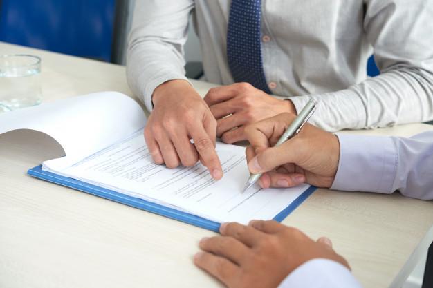 contrato para dono de restaurante