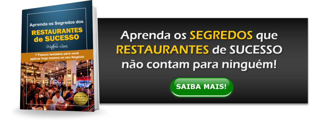 Ebook Segredos dos Restaurantes de Sucesso - Matheus Lessa